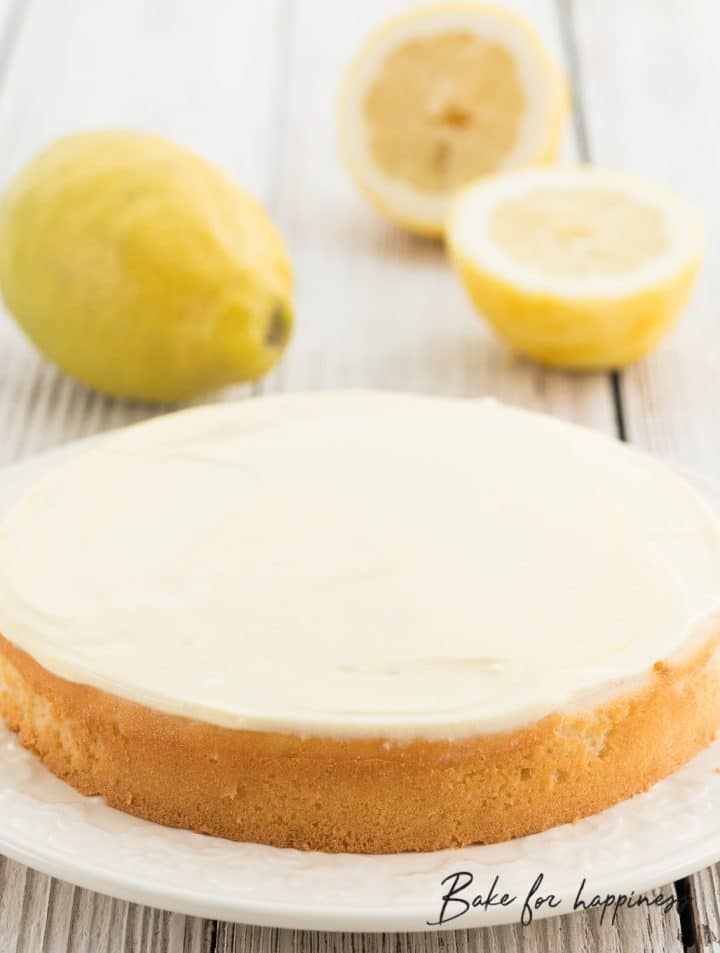 low cal lemon cake