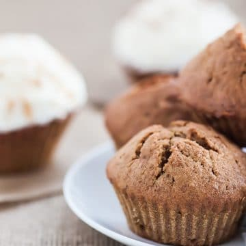 An easy-to-make pumpkin-muffin recipe