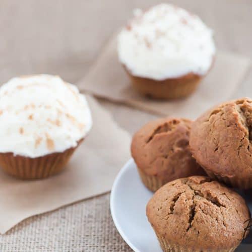 Recipe for pumpkin-muffins