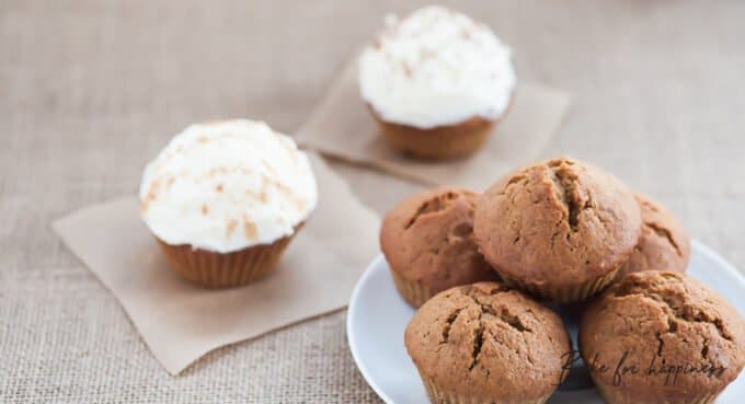 Recipe for pumpkin-muffins