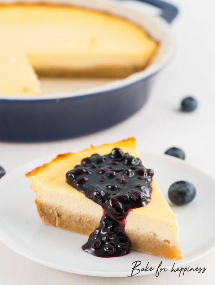 No-sugar Cheesecake