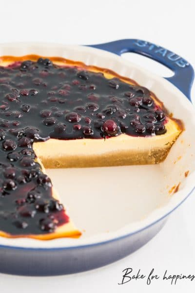 Low Carb Cheesecake: Cheesecake without sugar