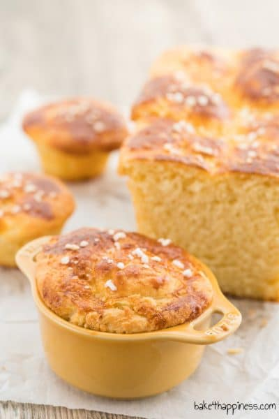 French Brioche: Buttery yeast dough biscuits