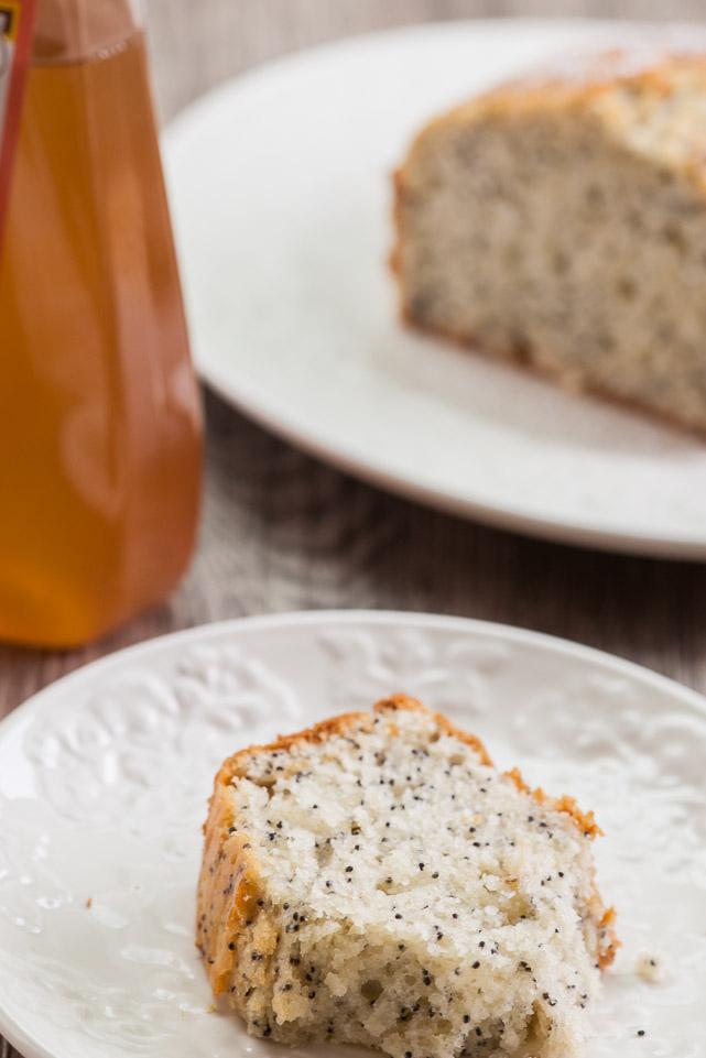 Fructose-free lemon cake