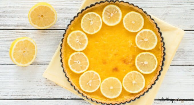 Tarte au citron Baking Recipe