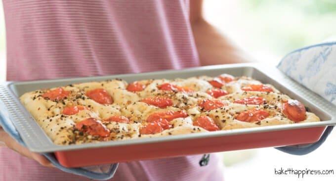 Focaccia homemade recipe