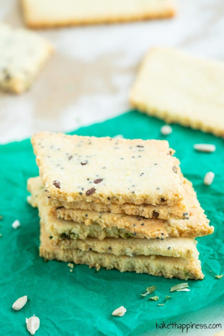 Low Carb Cracker Recipe