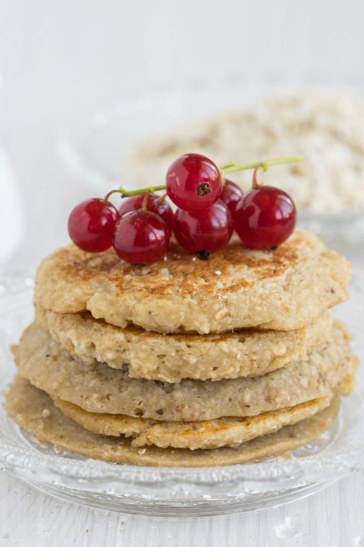 Healthy 3 ingredients pancakes