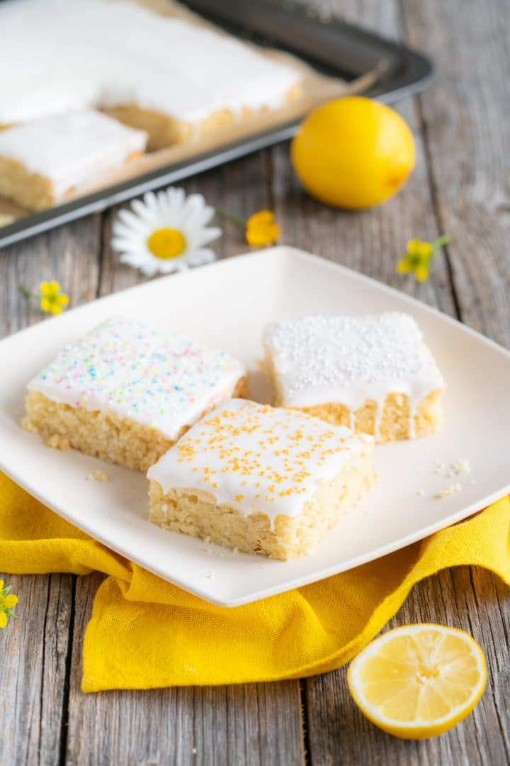 Vegan Lemon Cake Recipe