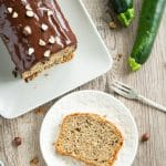 Moist zucchini and hazelnut cake