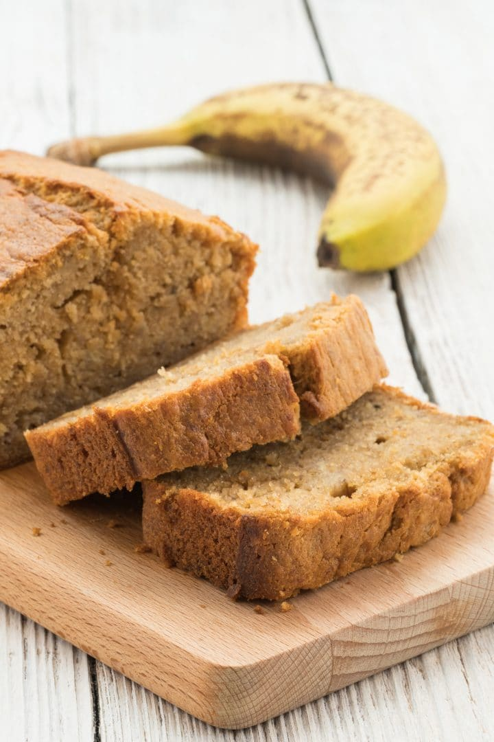 Banana bread easy and fast