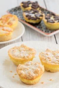 Tangerine Cheesecake Muffins