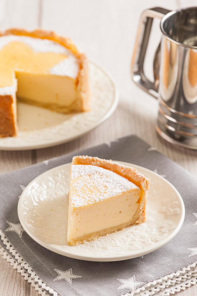 Classic Cheesecake with Short Pastry