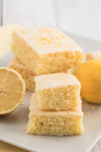 Lemon Sheet Cake with Lemon Frosting
