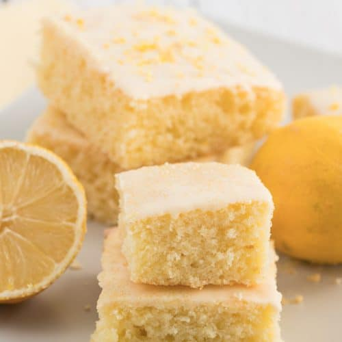 easy moist lemon sheet cake