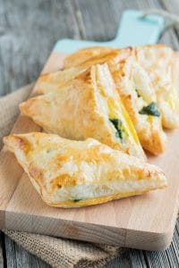 Spinach Puffs with Feta
