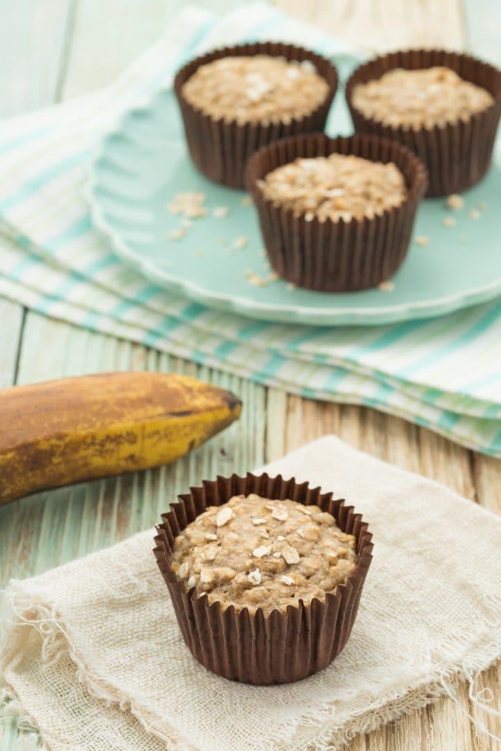 Vegan sugar-free breakfast muffins