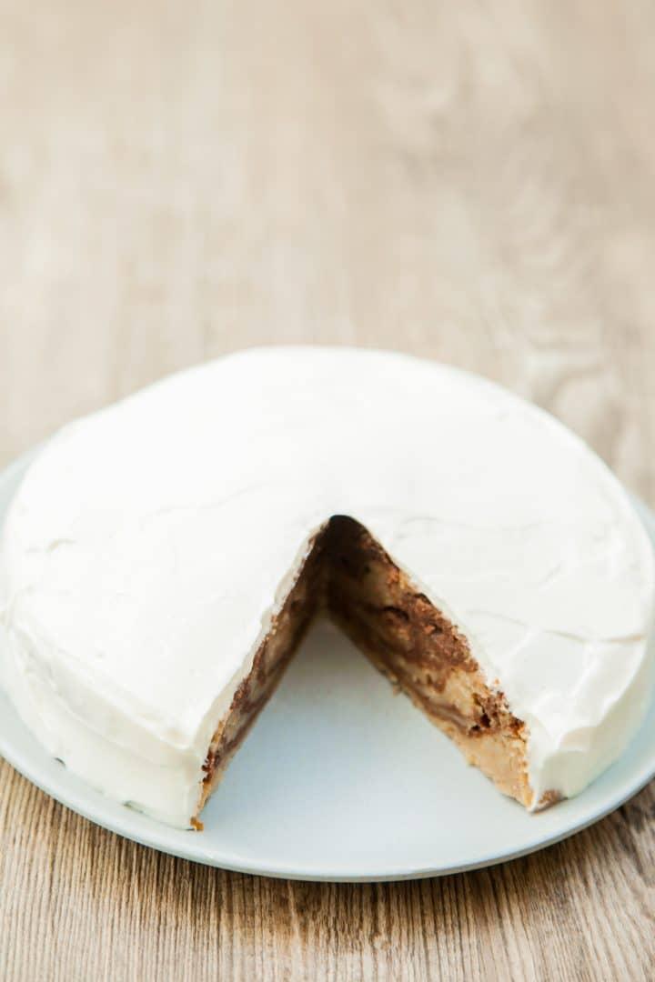 banana cake without sugar and egg