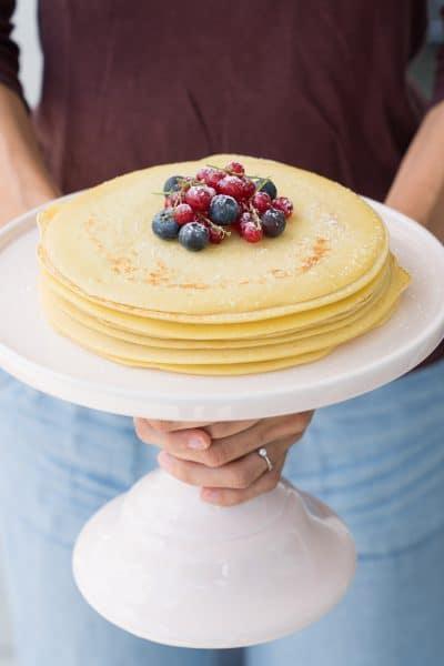 German Pfannkuchen - Best Pancake Recipe