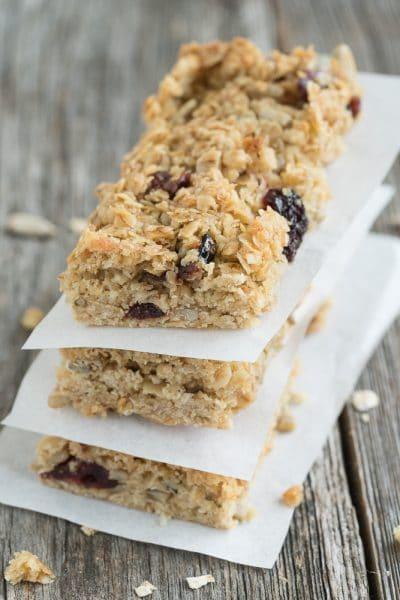 Healthy Flapjacks - Homemade Energy Bars