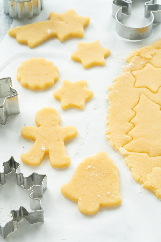Christmas cookie dough recipe