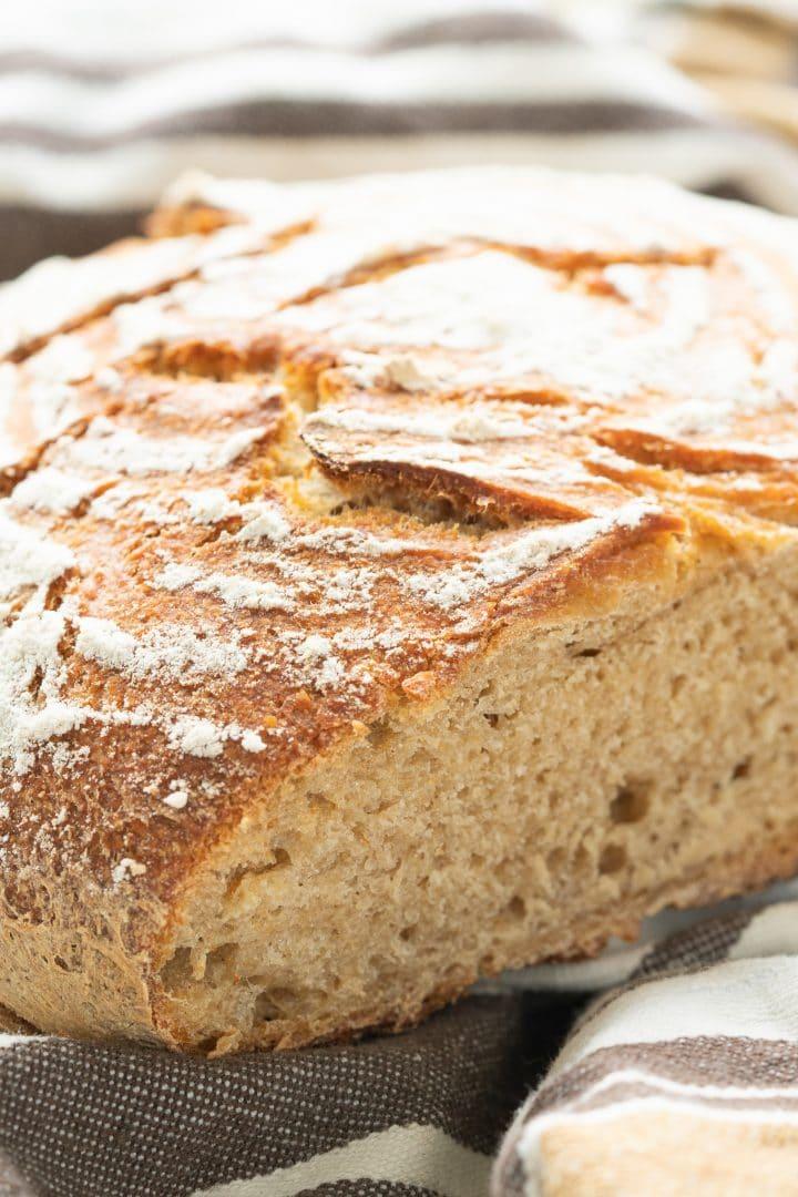 beginner's guide how to make sourdough starter for bread