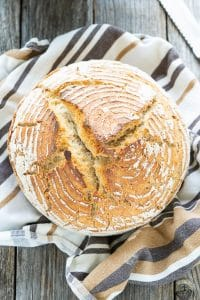 No Yeast Sourdough Bread for Beginners