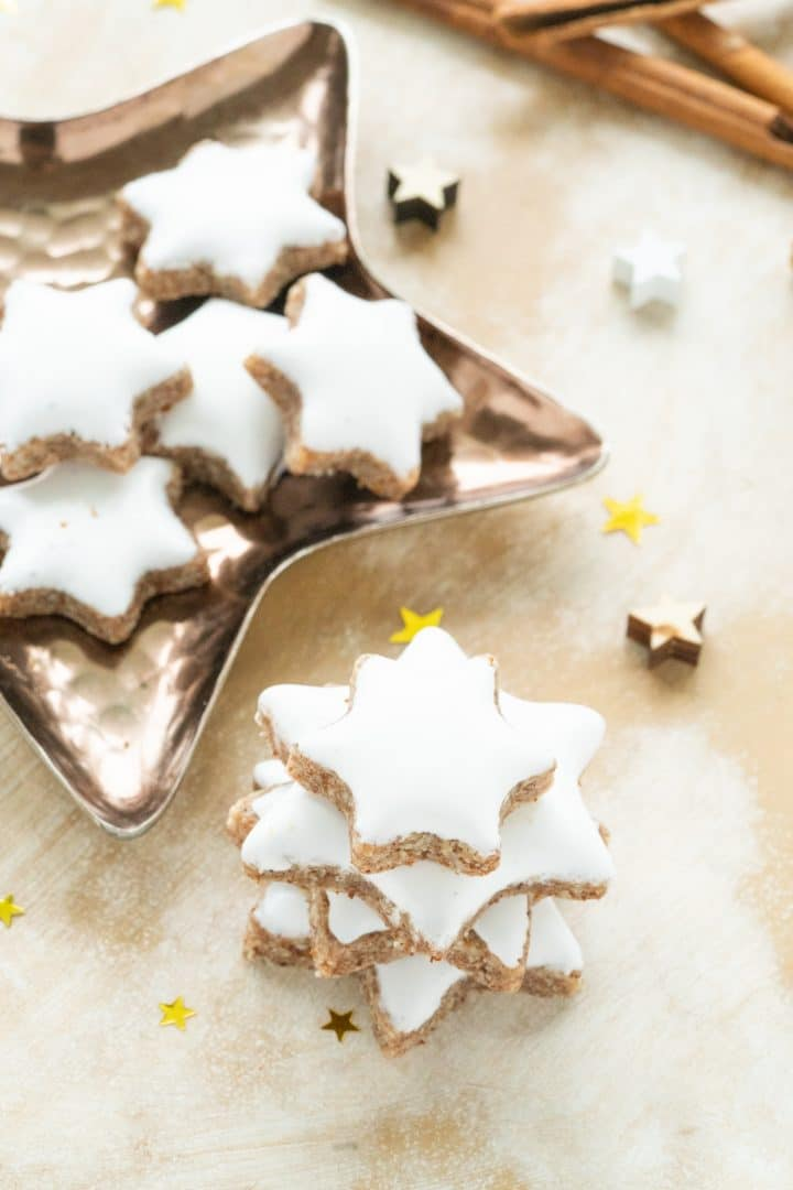 authentic german cinnamon stars zimtsterne recipe