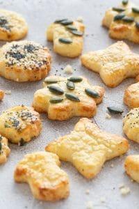 Homemade Cheese Shortbread Cookies