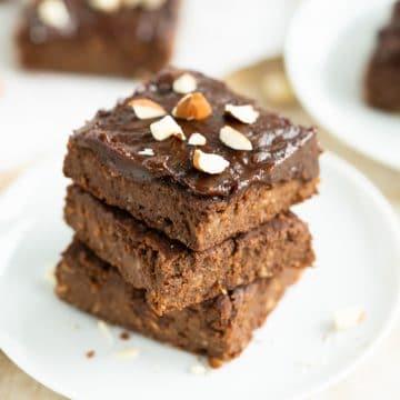 Sweet potato chocolate cake vegan sugar free