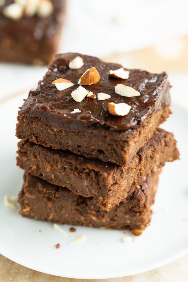 Vegan & Gluten Free Sweet Potato Brownies