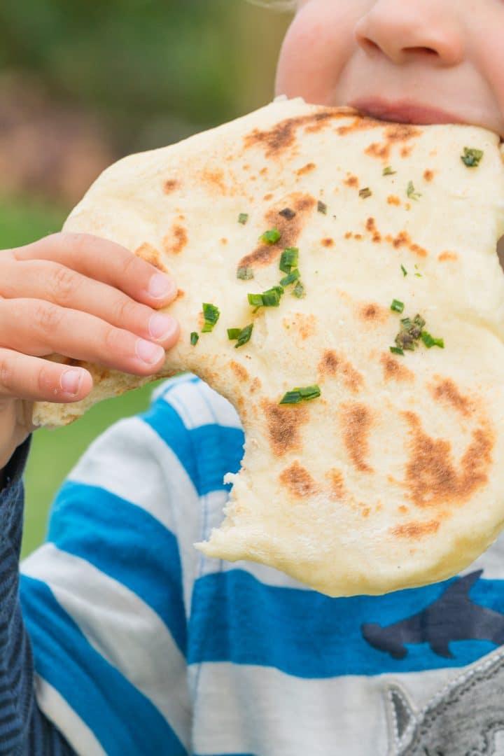 Vegan Naan Bread Recipe
