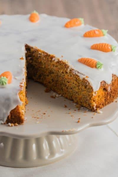 Moist Gluten-free Carrot Cake