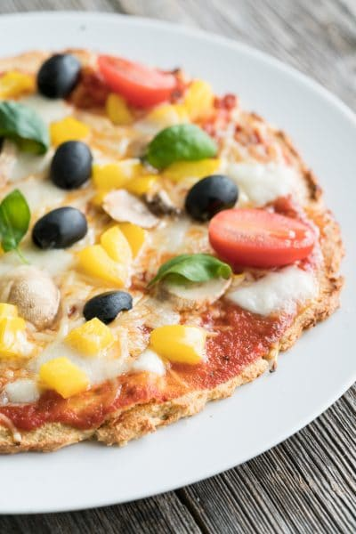 Low Carb Pizza with Crispy Crust