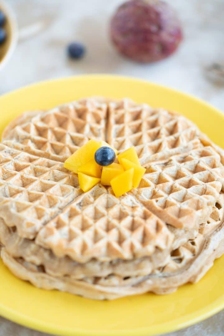 Tasty Fluffy Vegan Waffles Recipe