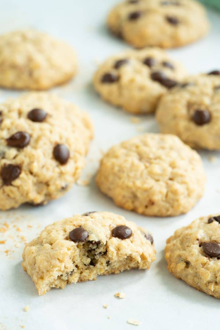 The best recipe for Oatmeal Chocolate Chip Cookies