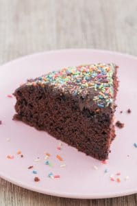 The Best Wacky Cake (Chocolate Cake)