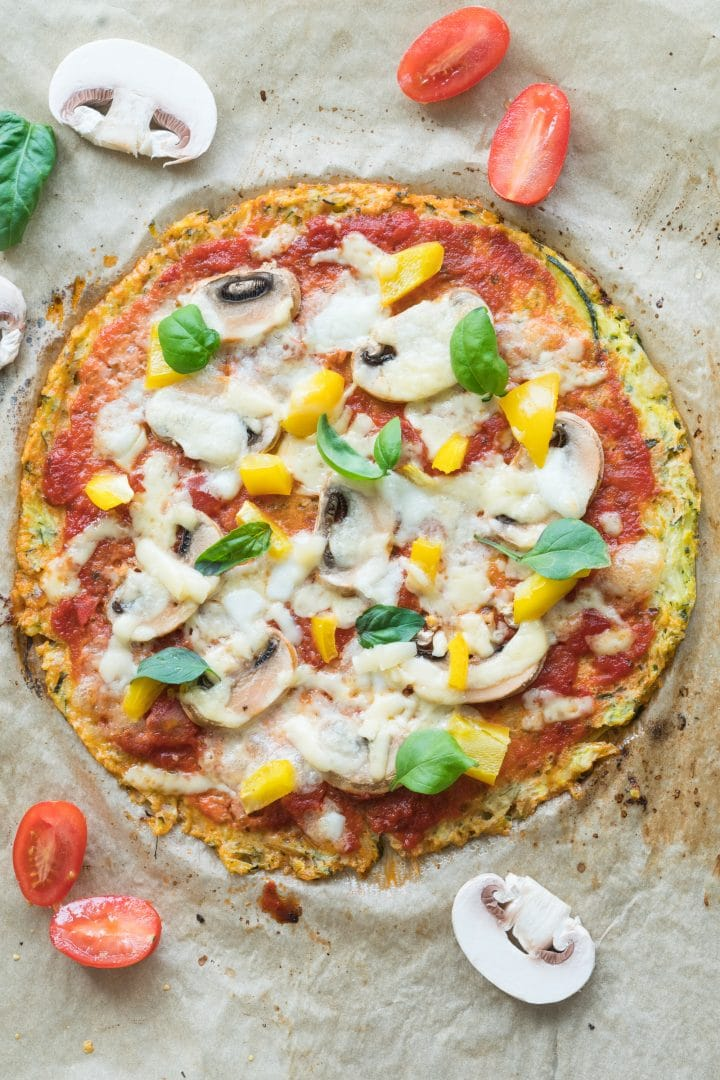 low carb pizza recipe crispy crust