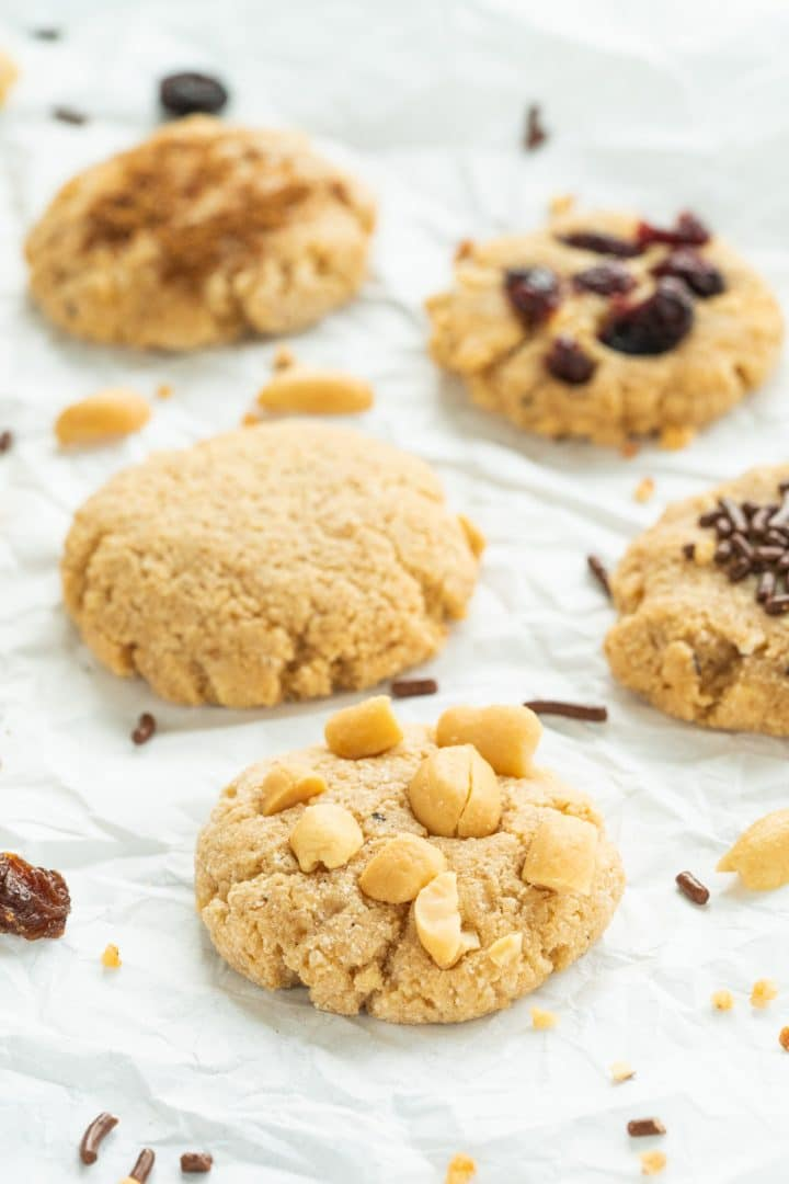 Low Carb Protein Cookies