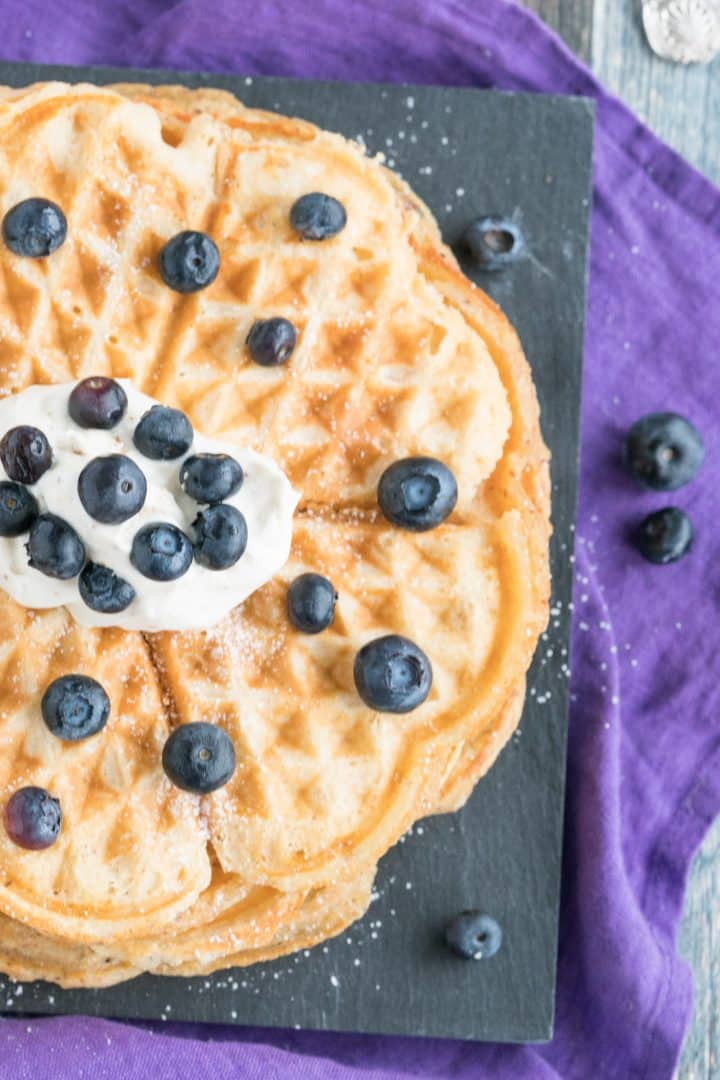 delicious low carb waffle recipe