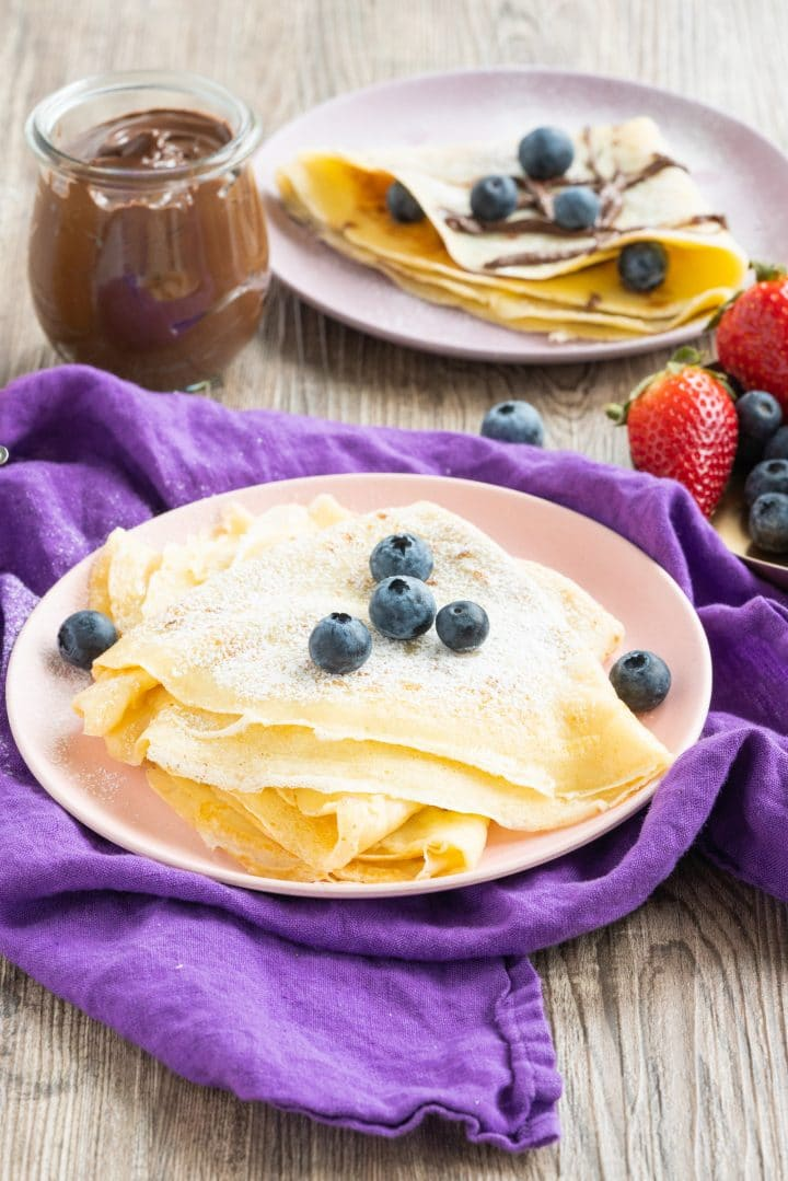 Authentic French Crepes Recipe