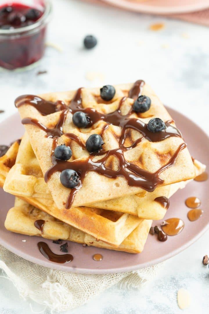 Protein powder waffles recipe