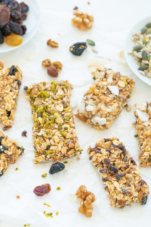 Healthy Cereal Bars: Vegan Granola Snack