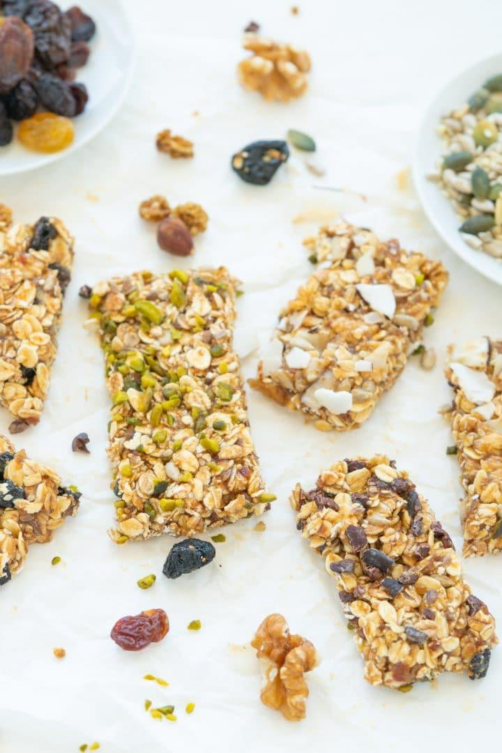 healtyh cereal bars recipe
