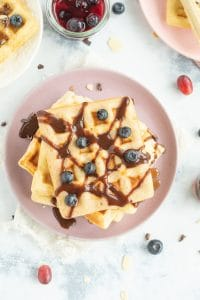 Low Carb High Protein Waffles