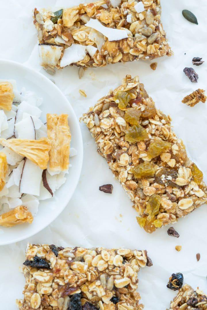 vegan granola snack