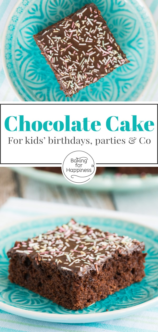 Wonderfully moist, quick and easy chocolate sheet cake with icing. This is the best chocolate sheet cake for any occasion.