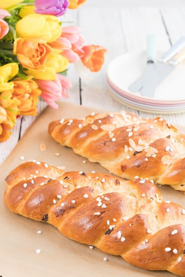 Soft and Fluffy Braided Bread