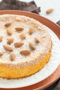 Two-Ingredient Marzipan Cake