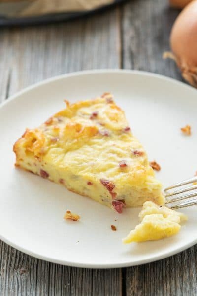 Quick Low Carb Onion Cake
